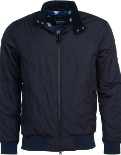 Barbour International Steve McQueen Glance Quilted Jacket - Navy NY71