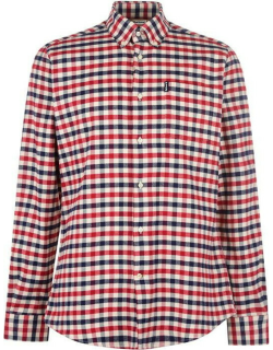 Barbour Country Long Sleeve Check Shirt - Red