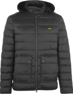 Barbour International Ludgat Quilted Jacket - Charcoal