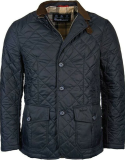 Barbour Quilted Sander Jacket - Navy NY91