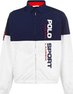 Polo Ralph Lauren Sport Lined Jacket - Navy/Pure White