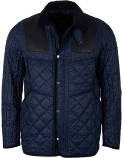 BARBOUR Gold Standard Supa Heritage Quilted Jacket - Navy