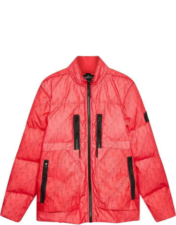 Stone Island Shadow Project Real Down Puffer Jacket - Red V0010