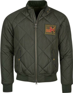 Barbour International Quilted Merchant - Sage GN91