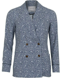 Scotch and Soda Double Breasted Blazer - Blue 218