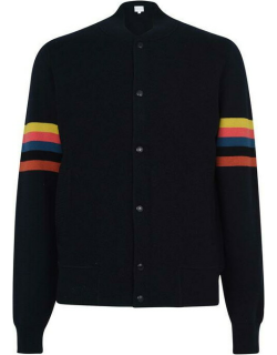 Paul Smith Knitted Bomber - Navy 49