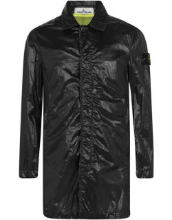 STONE ISLAND Lucido-Tc Packable Trench Coat - Black V0029