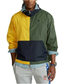 Polo Ralph Lauren Essential Sport OTH Jacket - Army/Yellow