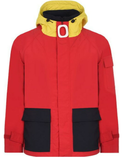 JW ANDERSON Pull Hooded Rain Jacket - Red 455