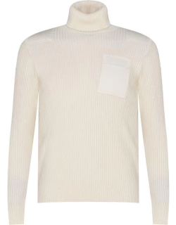 Paul And Shark Roll Neck Jumper - Off White 469