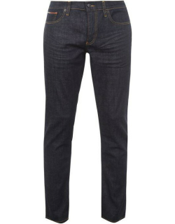 Tommy Jeans Straight Ryan Mens Jeans - Rinse Comfort