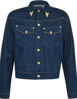 Versace Jeans Couture Gold Tip Jacket - Blue 904
