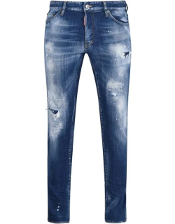 DSQUARED2 Cool Guy Distressed Jeans - Blue 470