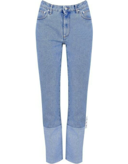 OFF WHITE Two Tone Jeans - Bue 4500