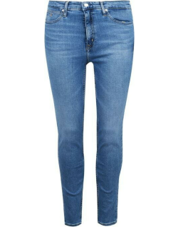 Calvin Klein Jeans High Rise Skinny Jeans - CA046 MID BLUE