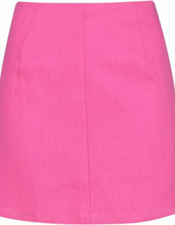 Never Fully Dressed Pink Mini Skirt - Pink