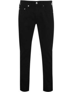 True Religion Rocco Relaxed Skinny Jeans - Jet Black 1106