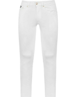 Versace Jeans Couture Versace Logo Slim Jeans - White 003