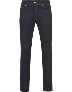 Versace Jeans Couture Logo Pocket Skinny Jeans - Tobacco 904