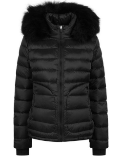 49WINTERS The Tailored Down Jacket - Black / Black
