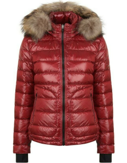 49WINTERS The Tailored Down Jacket - Red / Natural