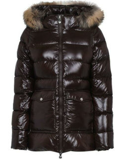 PYRENEX Authentic Shiny Coat - Seal Brown 2096