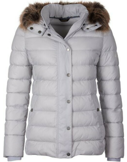 Barbour Housesteads Quilted Jacket - Ice White