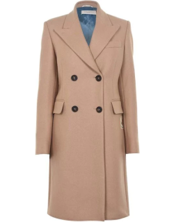 Golden Goose Deluxe Brand Alena Double Breasted Coat - Tann 55191