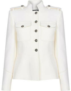 Dolce and Gabbana Lined Jacket - White W0001