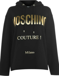 MOSCHINO Couture Hoodie - Black/Gold 2555