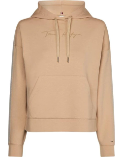 Tommy Hilfiger Relaxed Crepe Hoodie - CREPE ABT