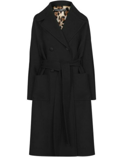Dolce and Gabbana Double Breasted Coat - Nero N0000