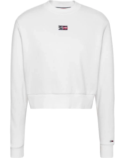 Tommy Jeans TJW Tiny Tommy Swt Ld14 - White
