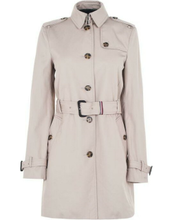 Tommy Hilfiger Heritage Trench Coat - MEDIUMTAUPE 055