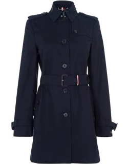 Tommy Hilfiger Heritage Trench Coat - MIDNIGHT 403