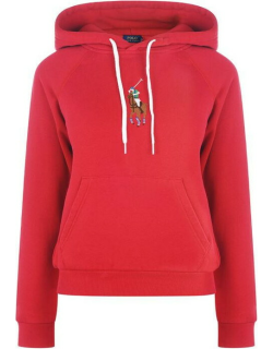 Polo Ralph Lauren Pony Player OTH Hoodie - Charter Red