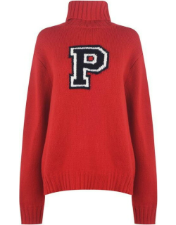 Polo Ralph Lauren Polo Neck Sweater - Fall Red