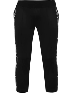 DSQUARED2 Tape Crop Joggers Ladies - Black/Red 900