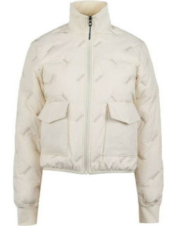 KENZO Quilted Down Jacket - Off White 02