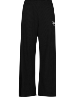 Opening Ceremony Wide Leg Trousers - Black/White