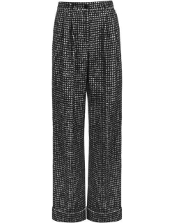 Dolce and Gabbana Tweed Wide Leg Trouser - Fantasia S8030