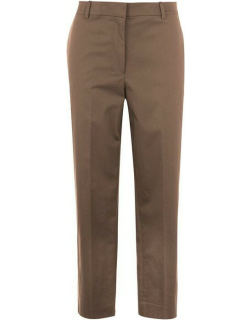 THEORY High Waisted Straight Trousers - Cargo E8T