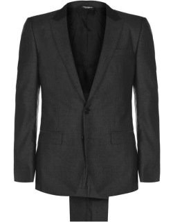 Dolce and Gabbana Peak Tonic Suit - Charcoal