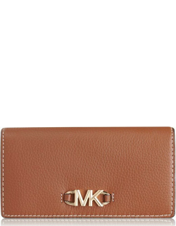 MICHAEL Michael Kors Izzy Large Fold Over Purse - Luggage 230