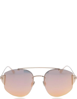 DIOR Stronger Mirrored Sunglasses - Gold