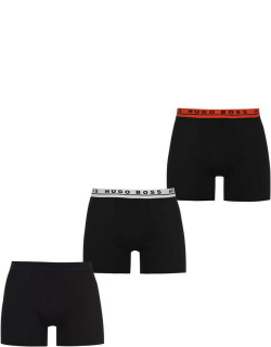 Boss 3 Pack Boxer Briefs - Blk/Nvy/Red 966