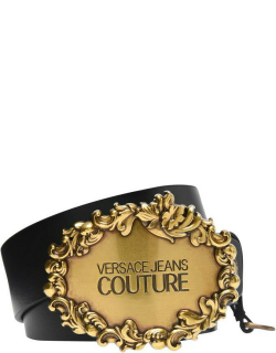 Versace Jeans Couture Rodeo Logo Belt - Black 899