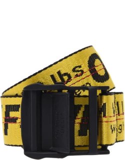 OFF WHITE Industrial Belt 4 Cm - Yellow