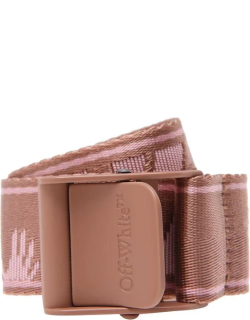 OFF WHITE New Industrial Belt - Pink 3031