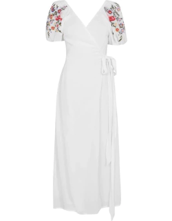 Never Fully Dressed Meadow Maxi Dress - White